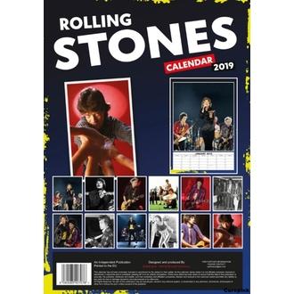 Kalendar za za godinu 2019 - Rolling Stones, NNM, Rolling Stones