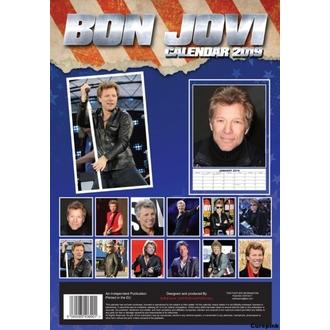 Kalendar za za godinu 2019 - Bon Jovi, NNM, Bon Jovi