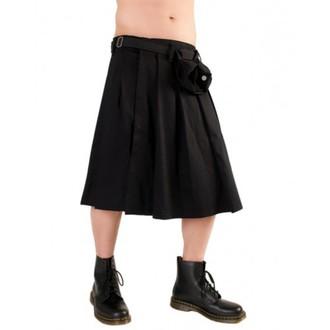 kilt Black Pistol - Kratak Kilt Crni traper, BLACK PISTOL