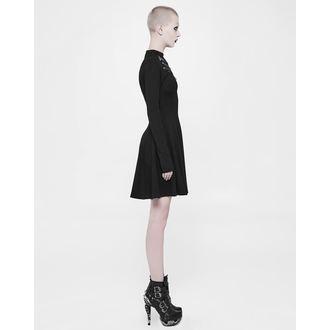 Ženska haljina PUNK RAVE - Shiva - Crna Gothic, PUNK RAVE