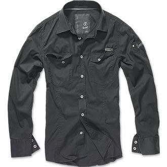 košulja muška Brandit - Ljudi Košulja Vitak - Crno, BRANDIT