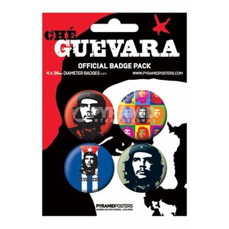Bedževi Che Guevara - BP80105, PYRAMID POSTERS, Che Guevara
