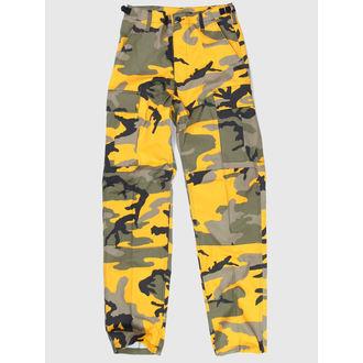 hlače muške Sjedinjene Države BDU - Army - ŽUTA GREEN CAMO - 200500, BOOTS & BRACES