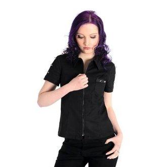 košulja žene ADERLASS - Ubod Bluza Traper Crno, ADERLASS