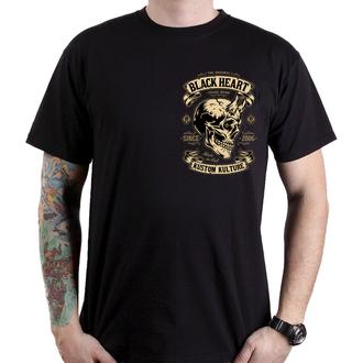 Muška ulična majica - DEVIL - BLACK HEART, BLACK HEART