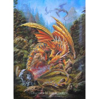 zastava Dragonevi od the Runering HFL 424, HEART ROCK