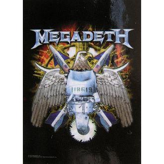 zastava Megadeth - Eagle, HEART ROCK, Megadeth