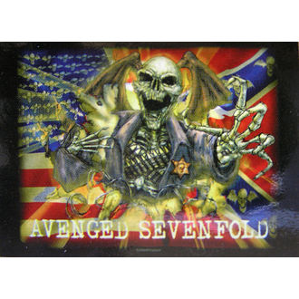 zastava Avenged Sevenfold - Confederate, HEART ROCK, Avenged Sevenfold