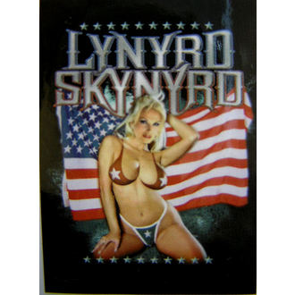 zastava Lynyrd Skynyrd - American Flag, HEART ROCK, Lynyrd Skynyrd