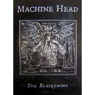 zastava Machine Head 'The Blackening', HEART ROCK, Machine Head