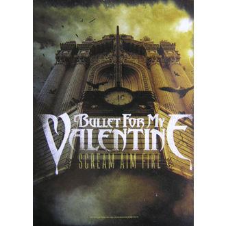 zastava Bullet For My Valentine - Scream Aim Fire, HEART ROCK, Bullet For my Valentine