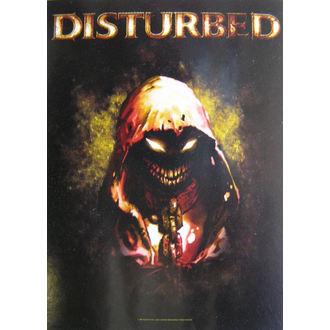 zastava Disturbed - Lik, HEART ROCK, Disturbed