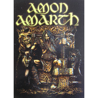 Zastava Amon Amarth HFL 1027, HEART ROCK, Amon Amarth
