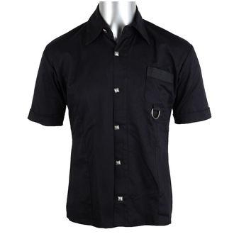 košulja ljudi ADERLASS - Prsten Košulja Traper Crno, ADERLASS