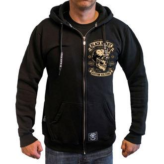 Muška majica s kapuljačom - DEVIL SKULL - BLACK HEART, BLACK HEART