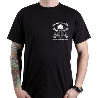 Muška ulična majica - ROBBER - BLACK HEART, BLACK HEART