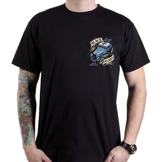 Muška ulična majica - HOT ROD BRUISER - BLACK HEART, BLACK HEART