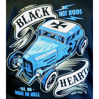 Muška majica s kapuljačom - BRUISER - BLACK HEART, BLACK HEART