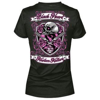 Ženska ulična majica - SHIELD - BLACK HEART, BLACK HEART