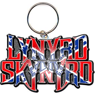Privjesak za ključeve - privjesak Lynyrd Skynyrd (Flag Logo) - ROCK OFF, ROCK OFF, Lynyrd Skynyrd