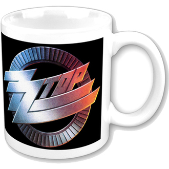 Šalica ZZ Top - ZZ Top Logo Bubalo - ROCK OFF, ROCK OFF, ZZ-Top