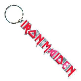 Privjesak za ključeve Iron Maiden - Logo s Tails Tipka Lanac - ROCK OFF, ROCK OFF, Iron Maiden