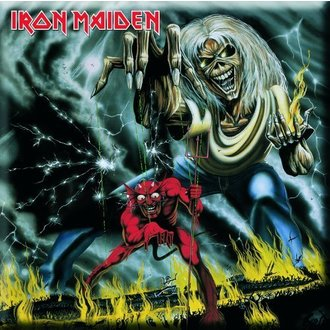 magnet Iron Maiden - Number Of The Beast Frižider Magnet - ROCK OFF - IMMAG03