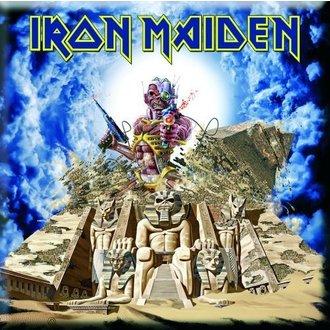 magnet Iron Maiden - Negdje Natrag U Time Frižider Magnet - ROCK OFF, ROCK OFF, Iron Maiden
