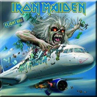 magnet Iron Maiden - Flight 666 Frižider Magnet - ROCK OFF, ROCK OFF, Iron Maiden