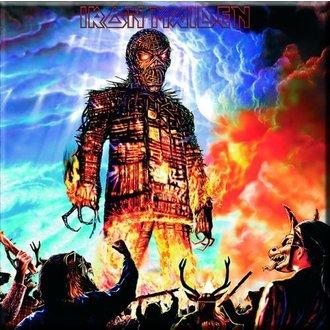 magnet Iron Maiden - Ispleten od pruća Čovjek Frižider Magnet - ROCK OFF, ROCK OFF, Iron Maiden