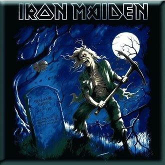 magnet Iron Maiden - Benjamin Breege Frižider Magnet - ROCK OFF, ROCK OFF, Iron Maiden