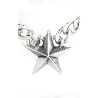 Lančić Nautical Star Cuban Privjesak - ALCHEMY GOTHIC, ALCHEMY GOTHIC