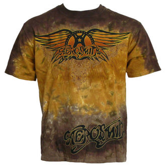Majica muška Aerosmith - Zraka Logo - LIQUID PLAVA, LIQUID BLUE, Aerosmith
