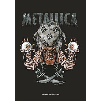 Zastava Metallica - Pirate, HEART ROCK, Metallica