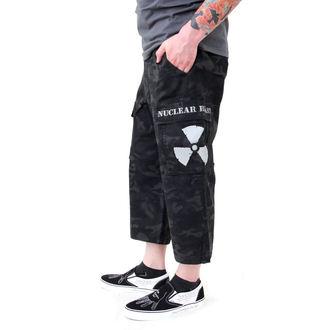 kratke hlače muške Crno Kamuflirati - NUCLEAR BLAST, NUCLEAR BLAST