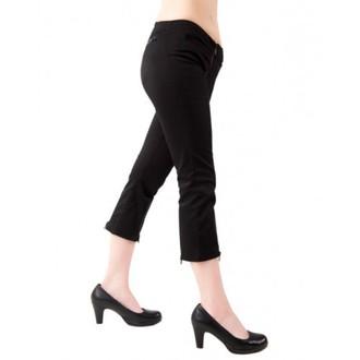 kratke hlače 3/4 žensko BLACK PISTOL - Zatvarač Slacs Denim Black, BLACK PISTOL