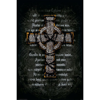 plakat Gothic Cross - Rolled, Reinders