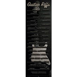 plakat Guitar - Rifovima, Reinders