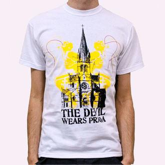 Majica muška Vrag Obučen Prada - Crkva - Bijelo, KINGS ROAD, Devil Wears Prada