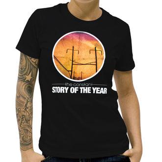 Majica ženska Priča Od The Godina - The Constant - Crno, KINGS ROAD, Story of the Year