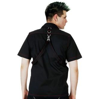 Muška košulja DEAD THREADS - Blk / Crveno, DEAD THREADS