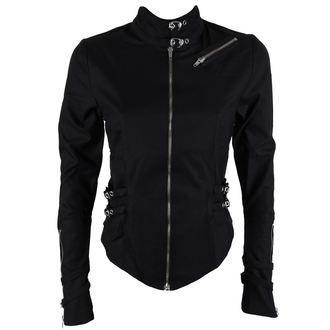 Košulja ženska BLACK PISTOL - Kopča Bluza Denim Black, BLACK PISTOL
