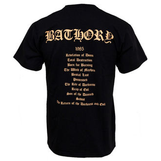 Majica muška Bathory - The Povratak - PLASTIC HEAD, PLASTIC HEAD, Bathory
