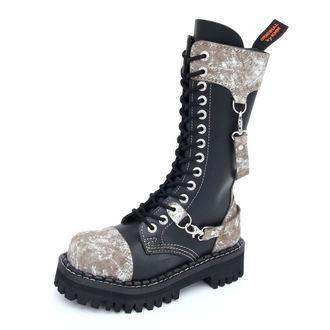 cipele KMM 14dírkové - Crno / Sivo, KMM
