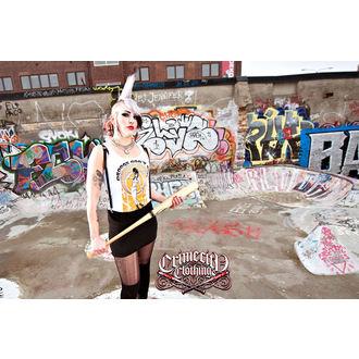 Potkošulja ženska CRIME CITY CLOTHING - Droogs Nemoj RUN, CRIME CITY CLOTHING