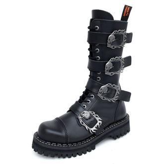 cipele KMM 14dírkové - Velik Skulls Crno Monster 4P, KMM