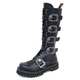 cipele KMM 20dírkové - Velik Skulls Crno Monster 5P, KMM