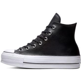 boty CONVERSE - Chuck Taylor All Star - Lift Black/Black/White, CONVERSE