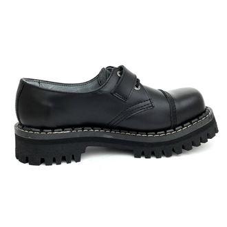 cipele KMM 3dírkové - Crno s kopčom, KMM