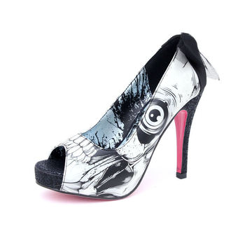 štikle ženske   -cipele- IRON FIST - Bonebreaker Platform - NUDE - IFLPLH00216S12